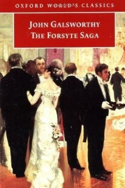 book cover The Forsyte Saga by John Galsworthy