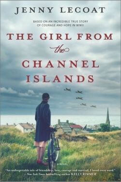 book cover The Girl From the Channel Islands by Jenny Lecoat