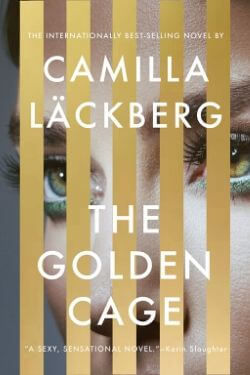 book cover The Golden Cage by Camilla Lackberg
