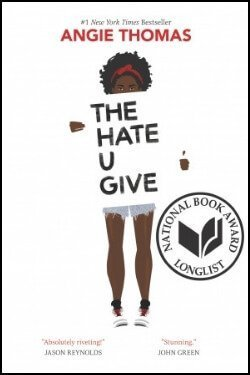 book cover The Hate U Give by Angie Thomas