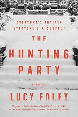 book cover The Hunting Party by Lucy Foley