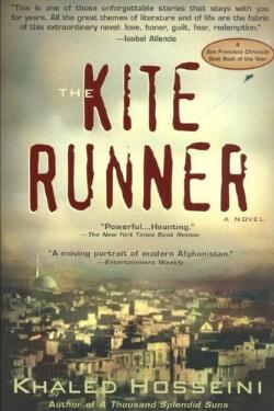 book cover The Kite Runner by Khaled Hosseini