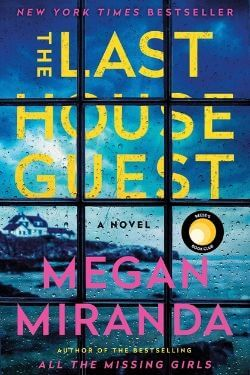 book cover The Last House Guest by Megan Miranda