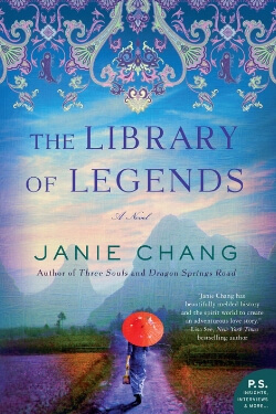 book cover The Library of Legends by Janie Chang