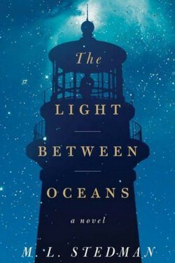 book cover by The Light Between Oceans bgy M. L. Stedman