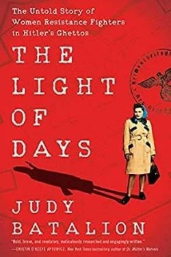 book cover The Light of Days by Judy Batalion