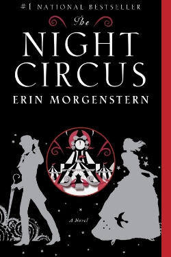 book cover The Night Circus by Erin Morgernstern