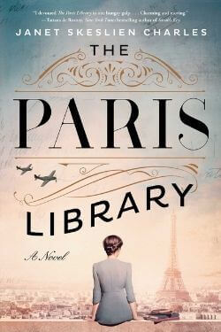 book cover The Paris Library by Janet Skeslien Charles
