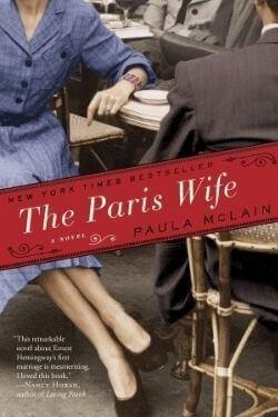 book cover The Paris Wife by Paula McLain