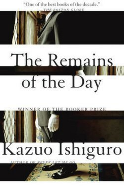 book cover The Remains of the Day by Kazuo Ishiguro