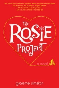 book cover The Rosie Project by Graeme Simision