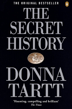 book cover The Secret History by Donna Tartt