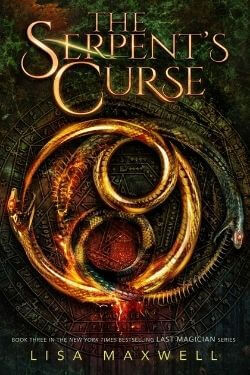 book cover The Serpent's Curse by Lisa Maxwell