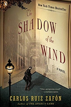 book cover The Shadow of the Wind by Carlos Ruiz Zafon