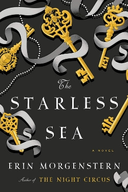 book cover The Starless Sea by Erin Morgenstern