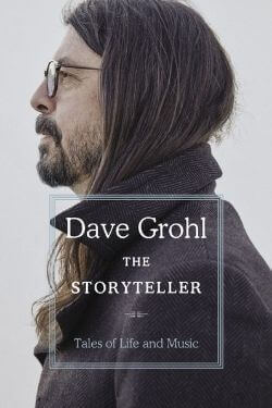 book cover The Storyteller by Dave Grohl