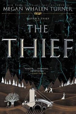 book cover The Thief by Megan Whalen Turner (The Queen's Thief)