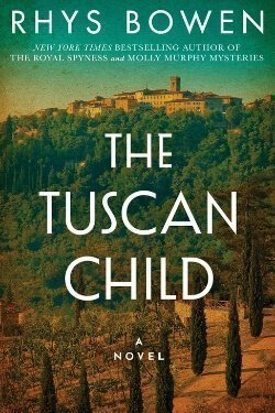 book cover Tuscan Child by Rhys Bowen