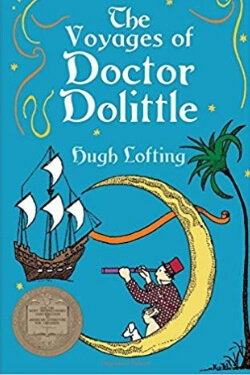 book cover The Voyages of Doctor Doolittle by Hugh Lofting