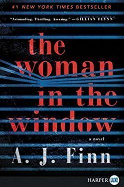 book cover The Woman in the Window by A. J. Finn