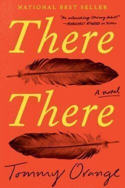 book cover There There by Tommy Orange