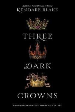 book cover Three Dark Crowns by Kendare Blake