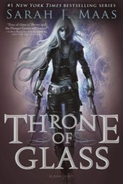 book cover Throne of Glass by Sarah J. Maas