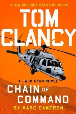 book cover Tom Clancy Chain of Command by Marc Cameron