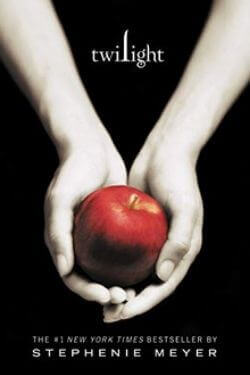 book cover Twilight by Stephenie Meyer
