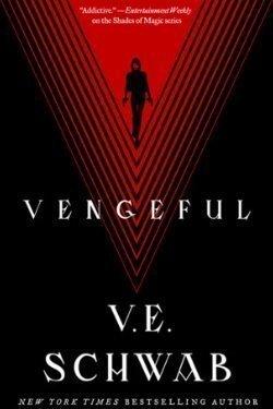 book cover Vengeful by V. E. Schwab