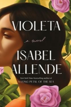 book cover Violeta by Isabel Allende