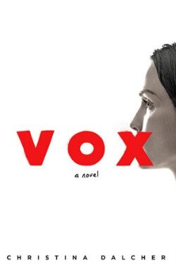 book cover Vox by Christina Dalcher