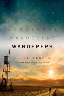 book cover Wanderers by Chuck Wendig