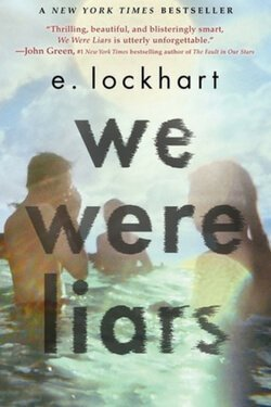 book cover by We Were Liars by E. Lockhart