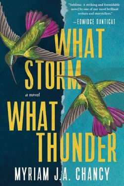 book cover What Storm What Thunder by Myriam J.A. Chancy