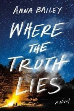 book cover Where the Truth Lies by Anna Bailey