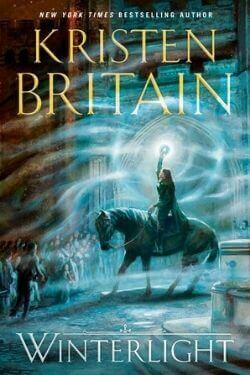 book cover Winterlight by Kristen Britain
