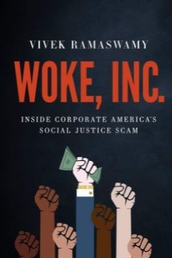 book cover Woke, Inc by Vivek Ramaswamy