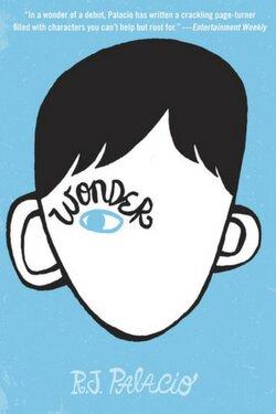 book cover Wonder by R. J. Palacio